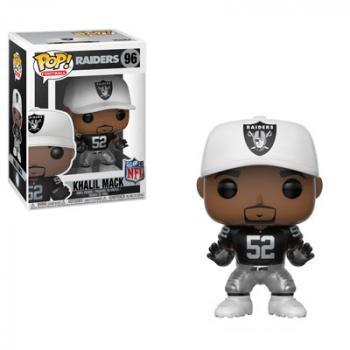 NFL Stars POP! Vinyl Figure - Khalil Mack (Oakland Raiders)