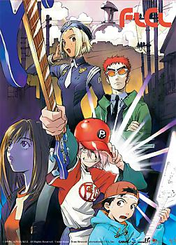 FLCL Wall Scroll - Haruko Baseball