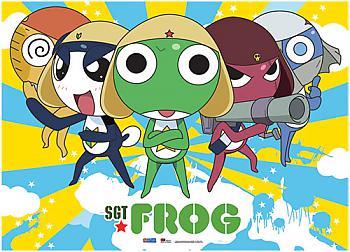Sgt. Frog Wall Scroll - Frog Battalion [LONG]