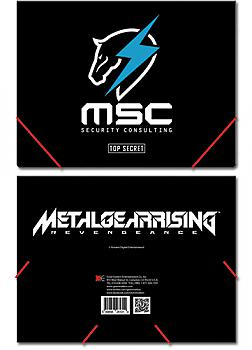Metal Gear Rising Elastic Band File Folder - Maverick