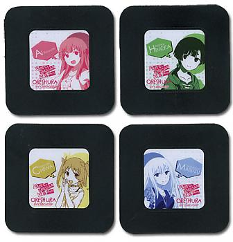 Oreshura Coasters - Set 2 Girls