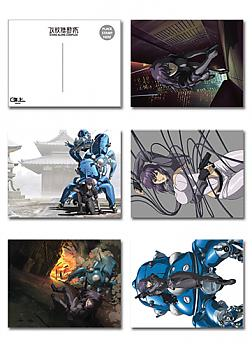 Ghost in the Shell SAC Postcards