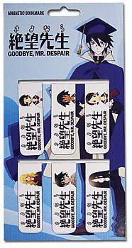 Sayonara, Zetsubou-Sensei Magnetic Book Markers