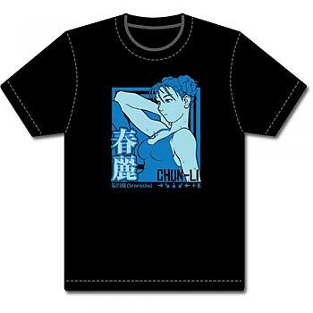 Street Fighter Alpha T-Shirt - Chun-Li Senenshu (BLK) (XXL)