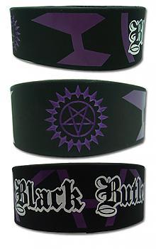 Black Butler Wristband - Sebastian Seal