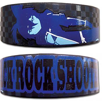 Black Rock Shooter Wristband - Shooter Blue