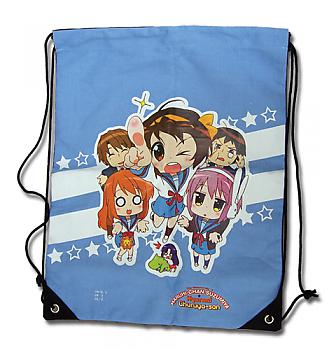 Haruhi Chan Drawstring Backpack - Group