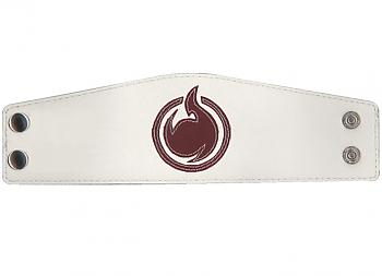 Hell Girl Leather Wristband - Symbol