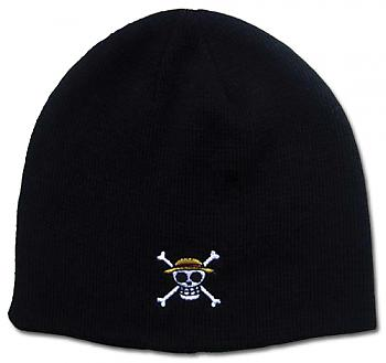 One Piece Beanie - Straw Hats Crossbones Skull