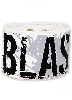 Nana Wristband Leather - Blast (Black Stone)