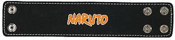 Naruto Leather Wristband - Naruto Logo