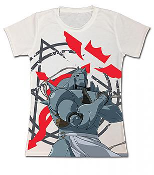 FullMetal Alchemist Brotherhood T-Shirt - Al Cross of Flamel (Junior M)