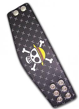 One Piece Leather Wristband - Straw Hat Pirates