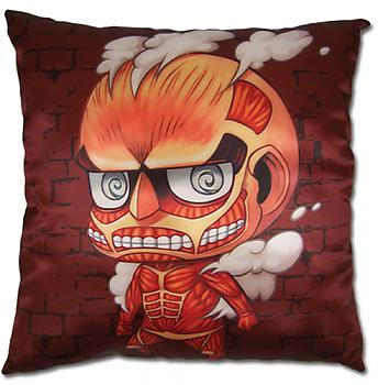 Attack on Titan Pillow - SD Colossal Titan Square