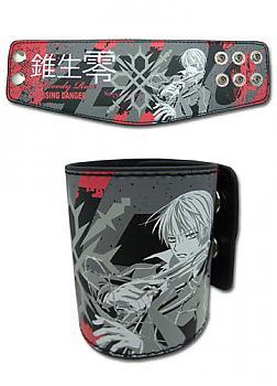 Vampire Knight Leather Wristband - Zero and Tattoo Design