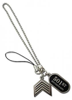 Strike Witches Phone Charm - 501st Tag and Rank