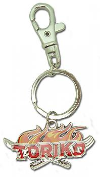 Toriko Key Chain - Logo Metal