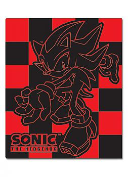 Sonic Blanket - Shadow Red Checked