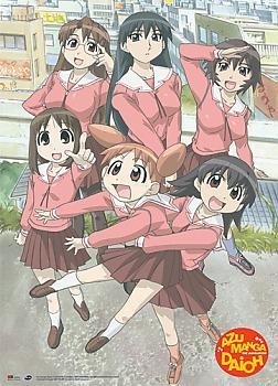 Azumanga Daioh Wall Scroll - Girls