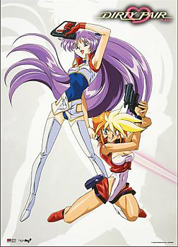 Dirty Pair Flash Wall Scroll - Lovely Angels