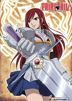 Fairy Tail Wall Scroll - Erza with a Sword