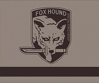 Metal Gear Solid Throw Blanket - Fox Hound