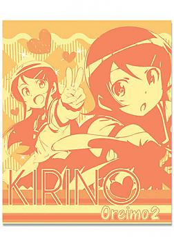 Oreimo 2 Blanket Throw - Kirino Orange