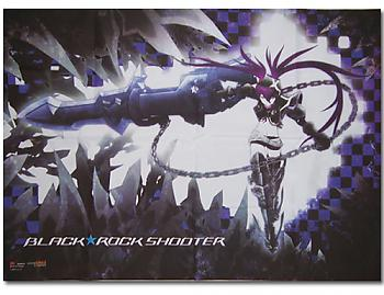 Black Rock Shooter Wall Scroll - Insane Black Rock [LONG]