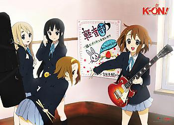 K-On Wall Scroll - Band Practice [LONG]