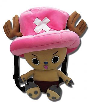 One Piece Plush Backpack - Chopper