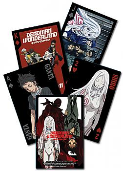 Deadman Wonderland Playing Cards