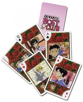 Ouran High School Host Club Playing Cards