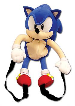 Sonic The Hedgehog 20'' Character Plush Backpack - Sonic