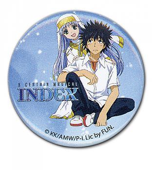 Certain Magical Index Button - Index & Touma 1.25''