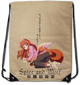 Spice and Wolf Drawstring Backpack