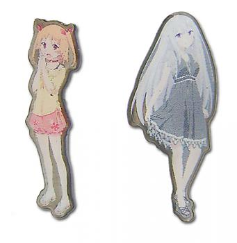 Oreshura Pins - Chiwa & Suzuha (Set of 2)