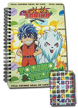 Toriko Spiral Notebook - Toriko & Terry