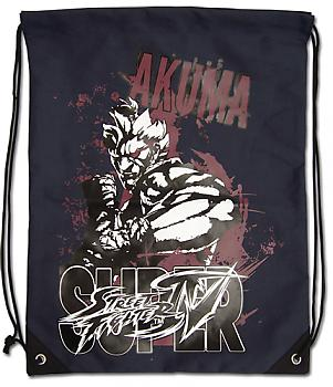 Street Fighter IV Drawstring Backpack - Akuma