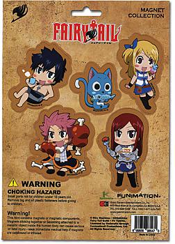 Fairy Tail Magnet - Cutout Characters