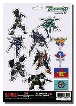 Gundam 00 Magnet - Cutout Characters