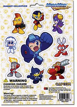 Mega Man Powered Up Magnet - Character Sheet