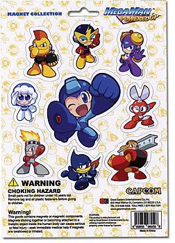 Mega Man Powered Up Magnet - Character Sheet