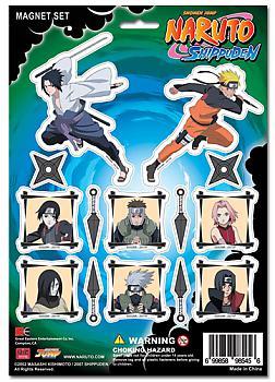 Naruto Shippuden Magnet - Cutout Characters
