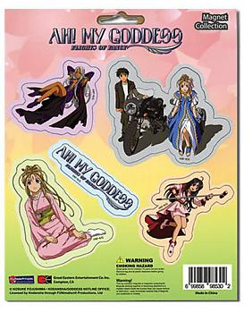 Oh! My Goddess Magnet - Cutout Characters