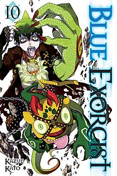 Blue Exorcist Manga Vol.  10
