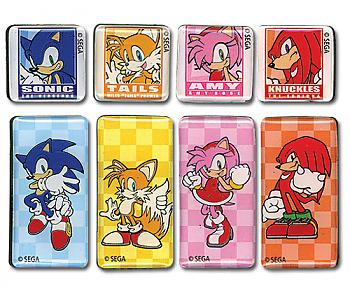 Sonic The Hedgehog Magnet - Bars