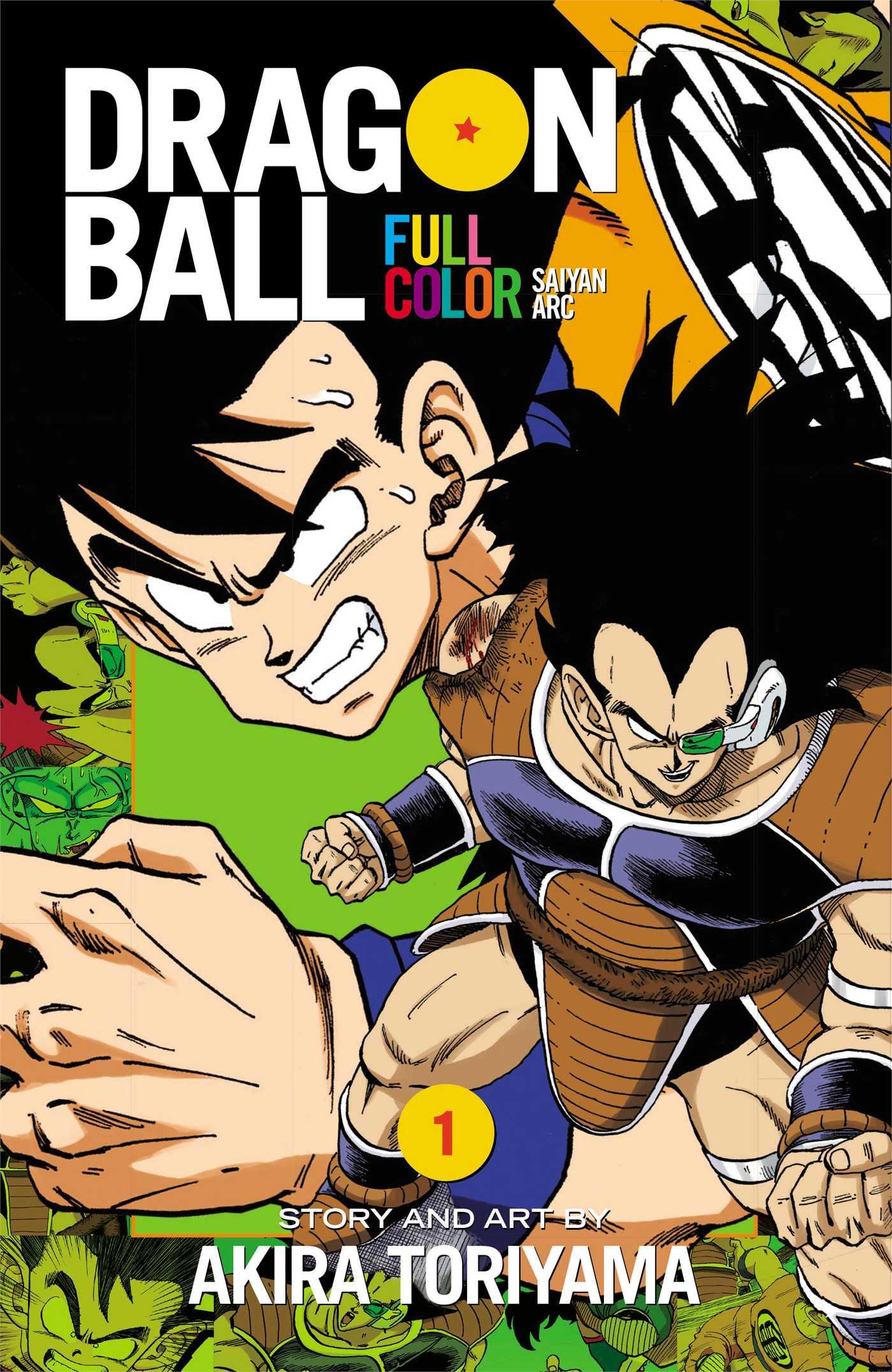 Dragon Ball Full Color Manga Vol. 1 @Archonia_US
