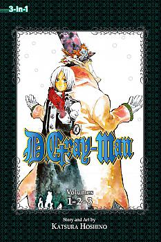D Gray-man Omnibus Manga Vol.  1 (3-in-1 Edition)