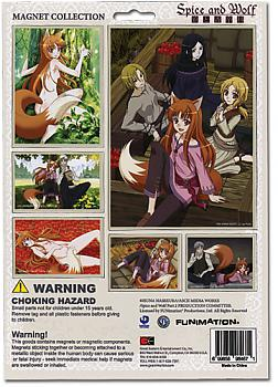 Spice and Wolf Magnet - Cutout Prints
