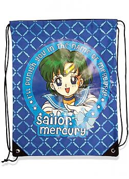 Sailor Moon Drawstring Backpack - Sailor Mercury